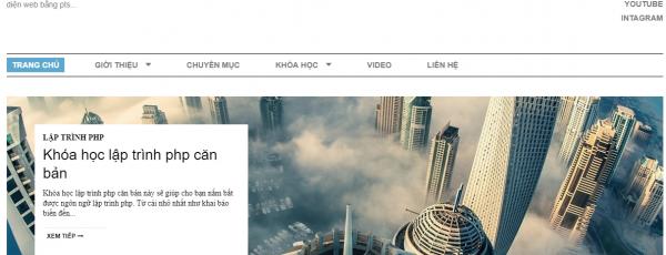 Share template html web blog công nghệ, blog cá nhân.