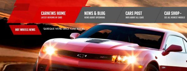 Share template html website xe ôtô, có reponsive