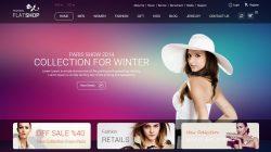 Share giao diện html website shop thời trang