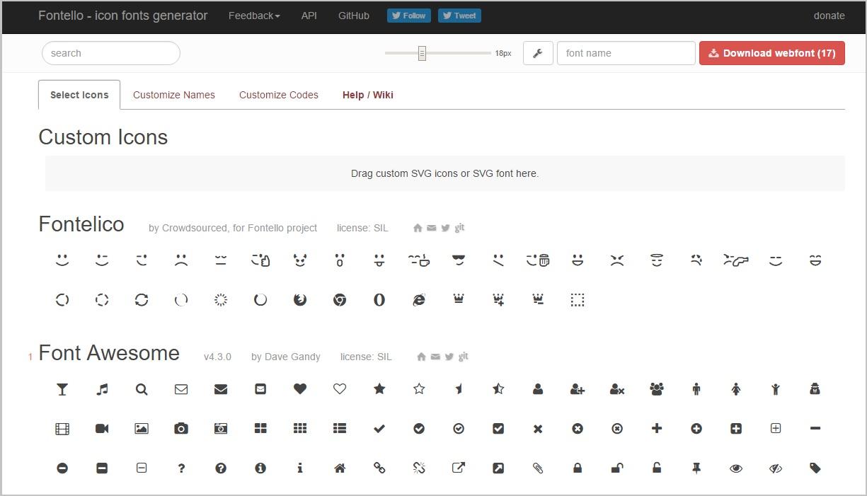 font icon miễn phí giúp website bạn chuyên nghiệp