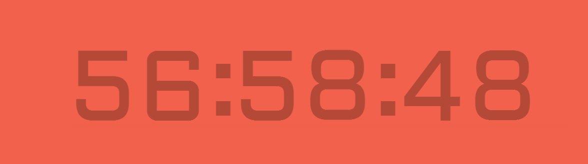 css-only-traditinal-ledclock