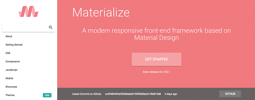 Materialize frameworks frontend
