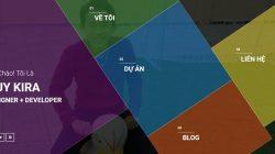 Share code website thông tin cá nhân sử dụng wordpress