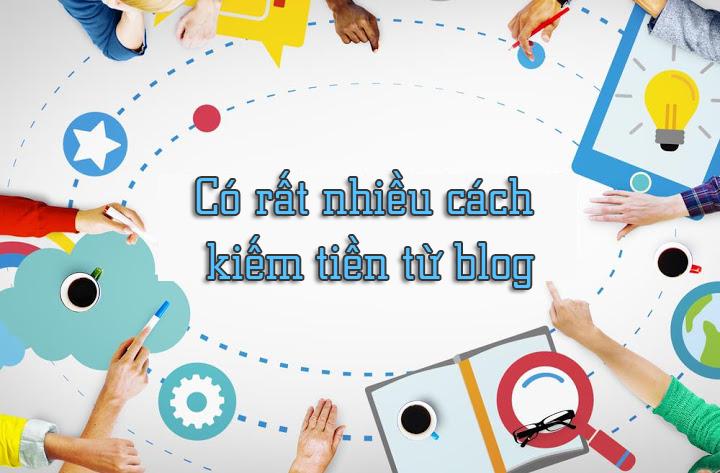 Những cách kiếm tiền từ blog