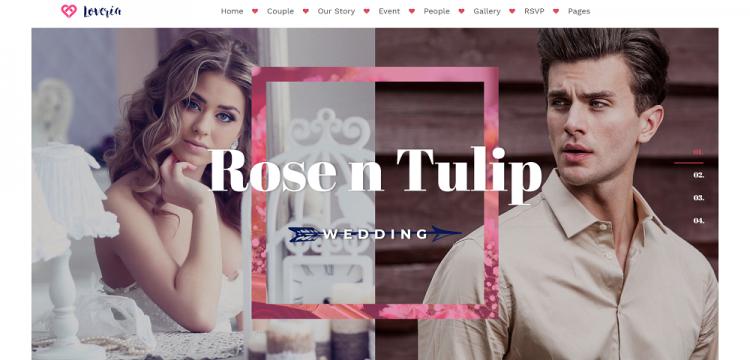 Share 10 giao diện website đám cưới, template wedding cực đẹp