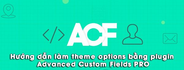 Hướng dẫn làm theme options bằng plugin Advanced Custom Fields PRO