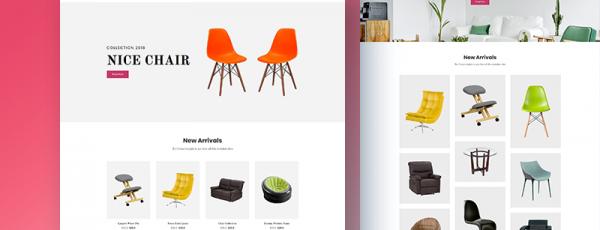 Share 3 mẫu website bán hàng cực đẹp (Template HTML)