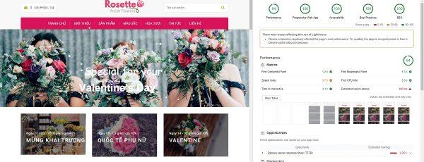 Full code bán hàng mỹ phẩm, bán hoa siêu đẹp sử dụng wordpress