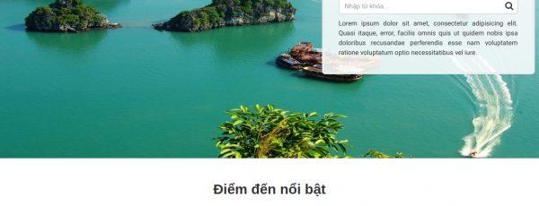 Share code tin tức wordpress thích hợp làm web blog du lịch