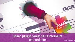 Share plugin Yoast SEO Premium cho thành viên Blog Huy Kira cập nhật thường xuyên