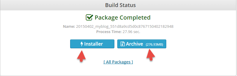 Download packages