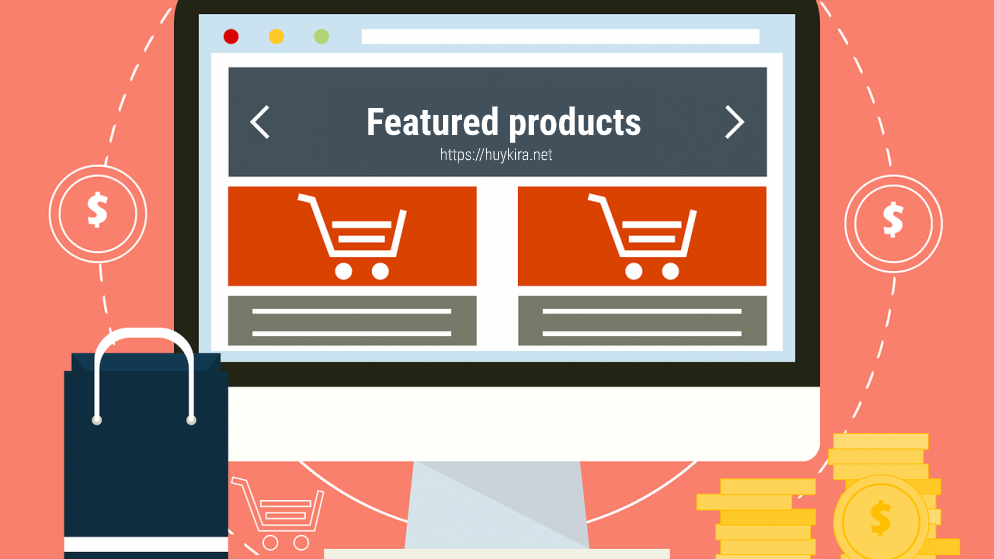 Hiển thị sản phẩm nổi bật trong WooCommerce (featured products)