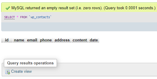 Xóa trong dữ liệu database wordpress