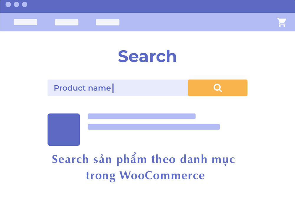 Search products by category in WooCommerce