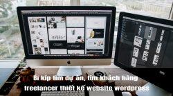 Bí kíp tìm dự án cho anh em mới vào nghề freelancer thiết kế website wordpress