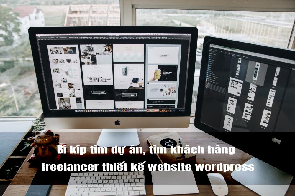 nghề freelancer thiết kế website wordpress